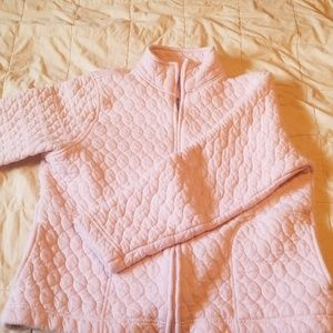 Women's quilted sweater